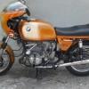 Peinture moto de collection BMW 900S Daytona
