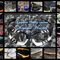 Lunettes soleil sports et loisirs Oakley Radar et Jawbone custom