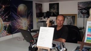 Cours aérographe atelier raymond planchat Lyon