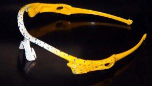 Oakley custom lunettes personnaliséesaérographie