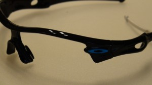 Oakley noir logo bleu