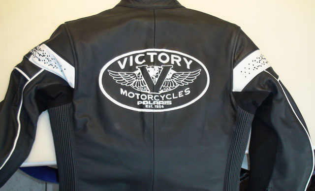 Blouson cuir Victory motorcycle Polaris 1954