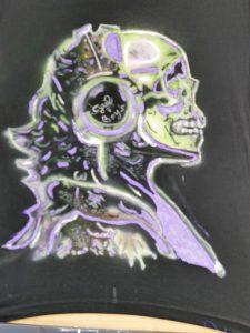 Skull sur teeshirt
