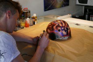 cours de peinture à l'aérographe