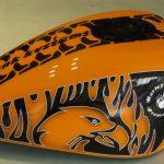 Moto Harley custom