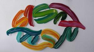 enseignes décoratives en forme de bouche