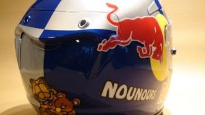 casque sport hjc Red Bull