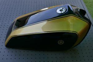 Yamaha 750 virago cafe racer