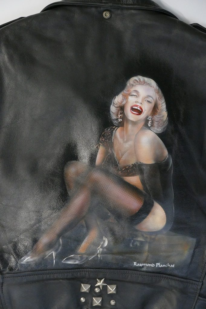 Perfecto blouson moto Marilyn Monroe