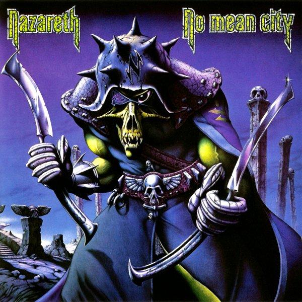 choix du dessin de la pochette du groupe de hard rock heavy metal Nazareth