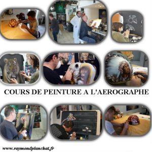 cours peinture aérographe tous supports Atelier raymond planchat 69008 LYON (2)