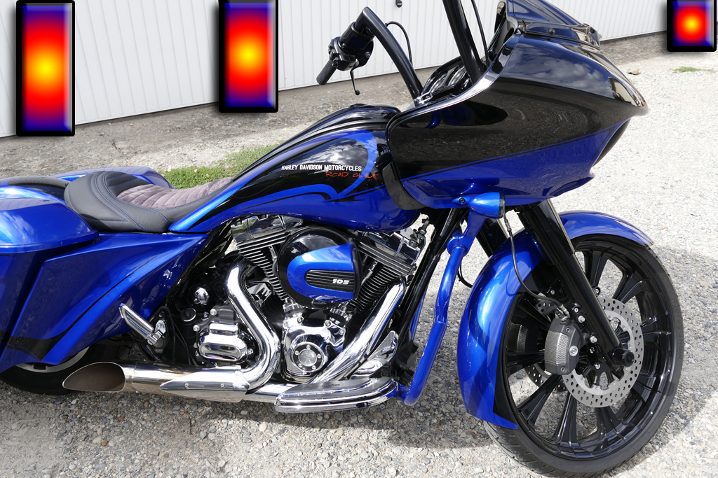 harley davidson road glide raymond planchat peintre a rographe cours de peinture vente. Black Bedroom Furniture Sets. Home Design Ideas