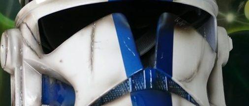 Belle réalisation sur casque clone Trooper