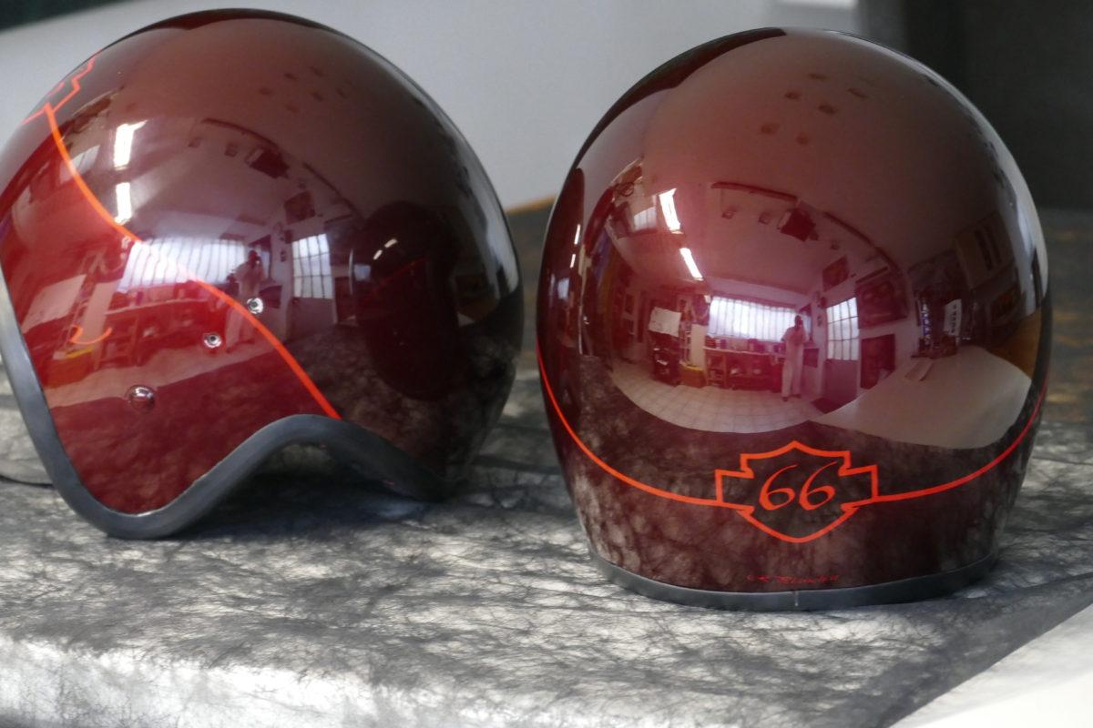 Tarifs peinture casques moto