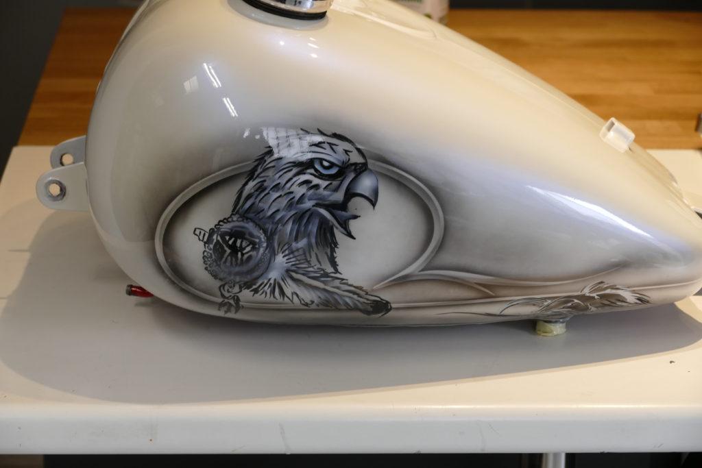 aigle pour moto