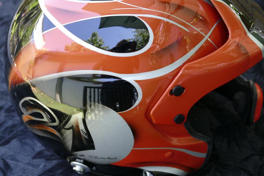 casque sport automobile stilo raymond planchat peintre a rographe cours de peinture vente. Black Bedroom Furniture Sets. Home Design Ideas